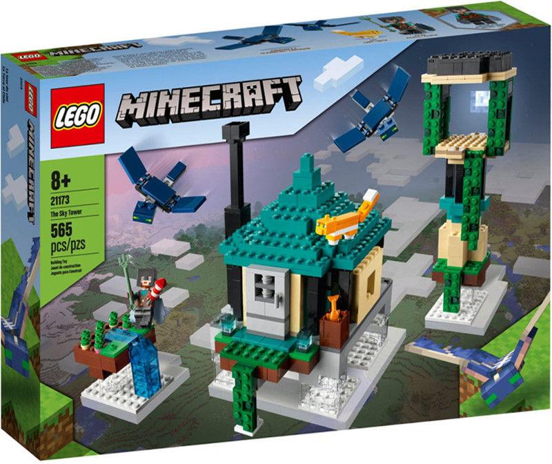 LEGO - MINECRAFT - PODNIEBNA WIEŻA - 21173