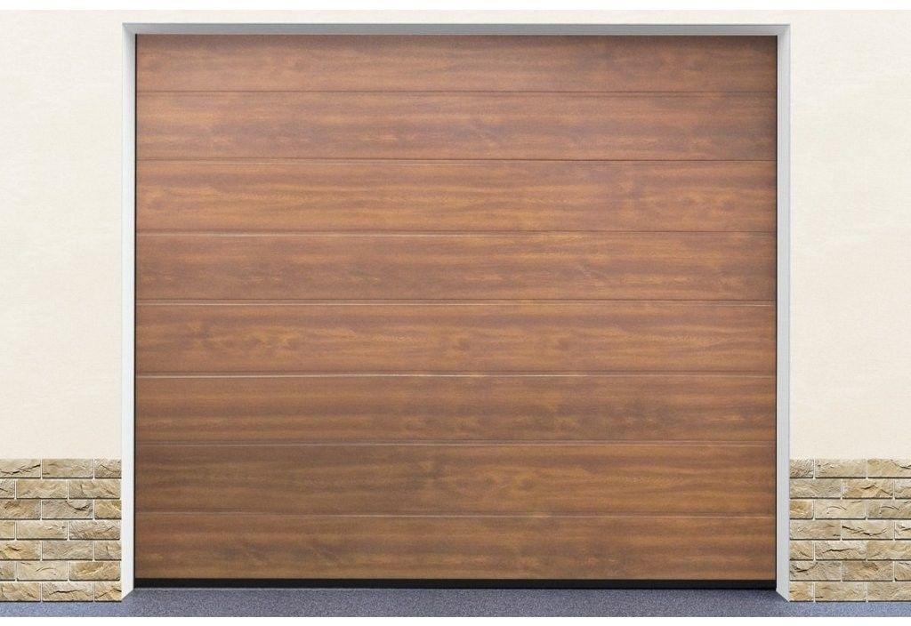 Brama garażowa segmentowa Złoty dąb DoorHan HD01/GLK