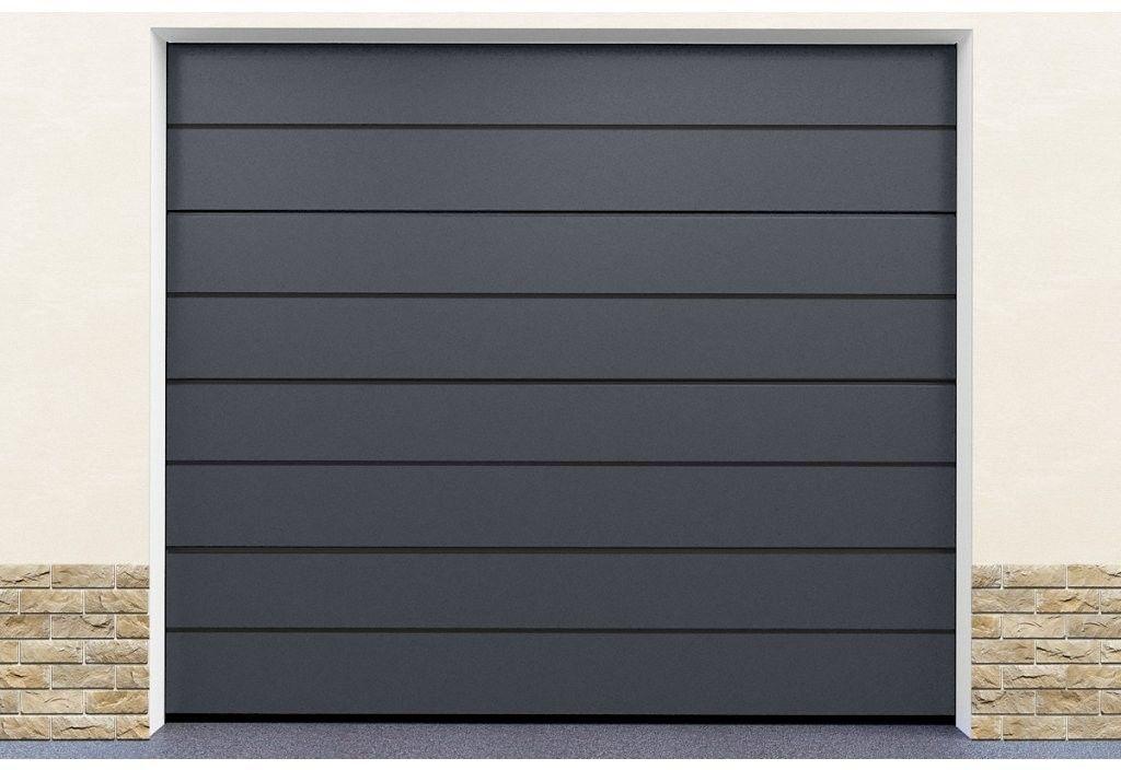 Brama garażowa segmentowa Szary Satynowy DoorHan HD01/STG