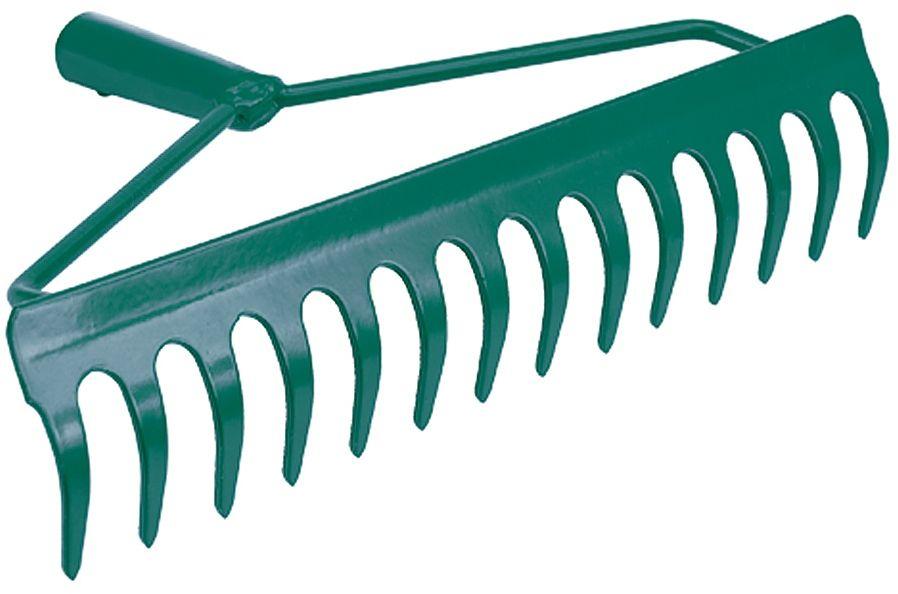35755 Grabie metalowe kabłąkowe 360mm 14 zębów