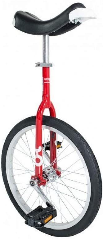 """OnlyOne 19004 jednokołowy 20"""", felga aluminiowa, czerwony/czarny (1 sztuka)"""