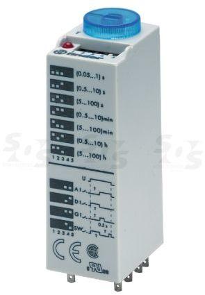 Przekaźnik czasowy 4CO 7A 12V AC/DC, Wielofunkcyjny AI, DI, SW, GI(impulsator) 85.04.0.012.0000
