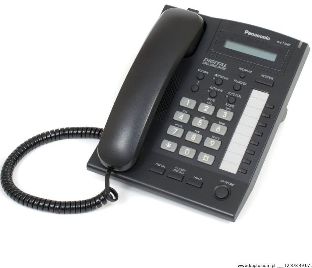KX-T7665, telefon systemowy UŻYWANY