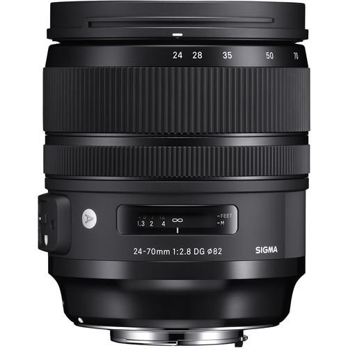 Sigma A 24-70mm f/2.8 DG OS HSM - obiektyw zmiennoogniskowy do Canon EF Sigma A 24-70mm f/2.8 DG OS HSM / Canon