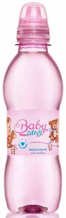 Woda źródlana niegazowana girl 250 ml - baby zdrój