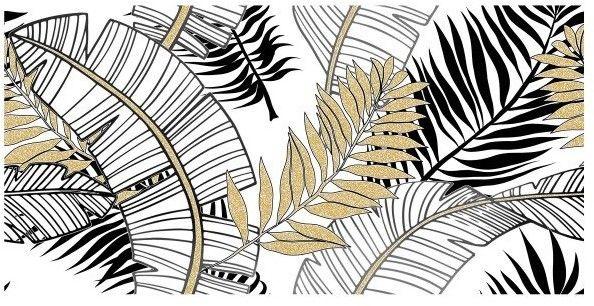 Ceramstic Dekor Leaf Conopy 30x60 gold