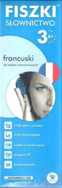 Francuski. Fiszki - Słownictwo 3 w.2013 - praca zbiorowa