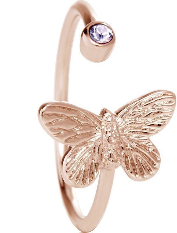 Biżuteria damska Olivia Burton Jewellery Bejewelled Butterfly & Quartz Ring OBJ16MBR01