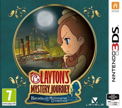 Layton''s Mystery Journey: KATMC 3DS