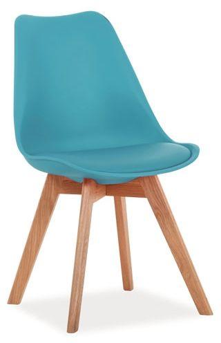 SIGNAL Krzesło Kris /nogi dąb
