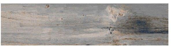 Gres Walnut 29,7 x 119,5 cm biały 1,8 m2