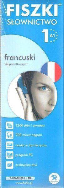 Francuski. Fiszki - Słownictwo 1 w.2013 - Patrycja Wojsyk