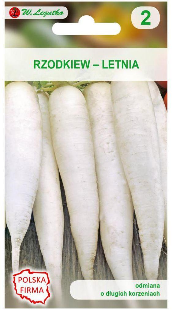 Rzodkiew letnia AGATA nasiona tradycyjne 5 g W. LEGUTKO