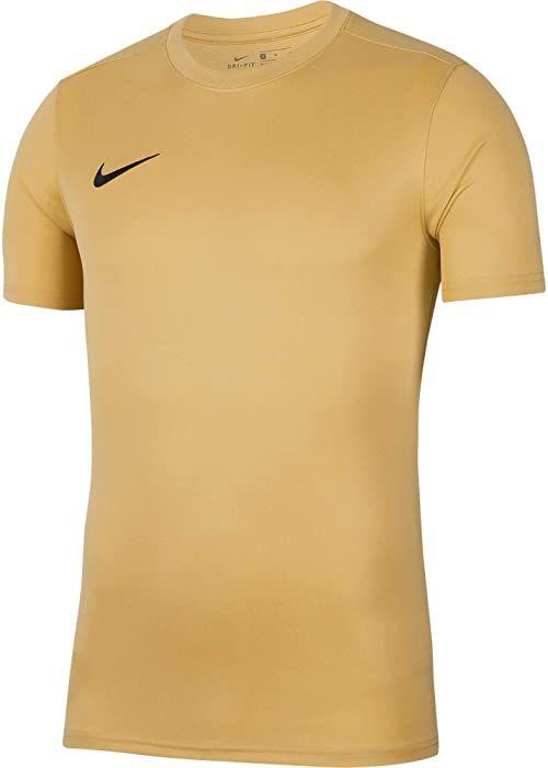 Nike Unisex Child Dri-fit Park 7 Shirt, Jersey złoty/czarny, M