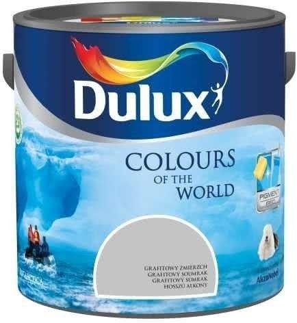 Emulsja Dulux Kolory Świata grafitowy zmierzch 5 l