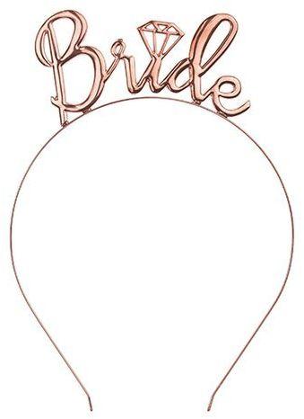 Opaska Bride różowe złoto OP5-019R