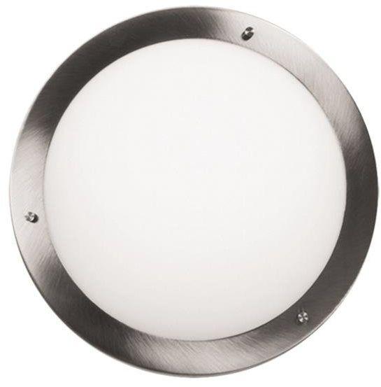 AQUILA LAMPA SUFITOWA PLAFON 18 1X40W G9 SATYNA NIKIEL IP44 (BŻ)