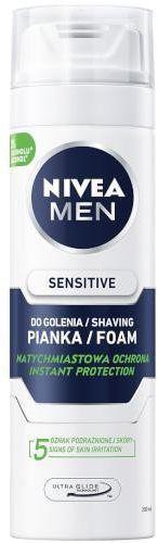Nivea Men Sensitive łagodząca pianka do golenia 200 ml
