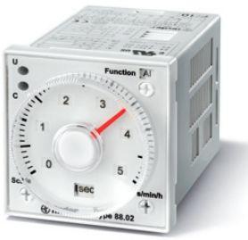 Przekaźnik czasowy 2CO 8A 24-230V AC/DC, Wielofunkcyjny AI, DI, GI, SW, BE, CE, DE 88.02.0.230.0002