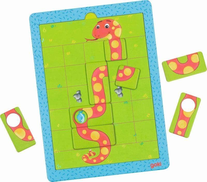 Magnetyczna gra Głodny wąż 56756-Goki, gry podróżne