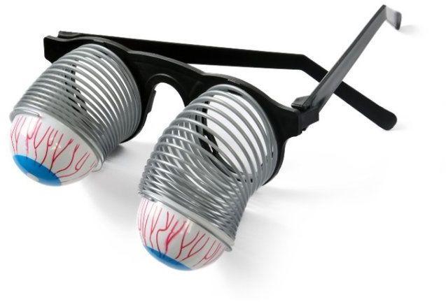 Okulary wypadające oczy 1szt HA4528