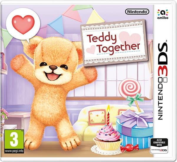 Gra Teddy Together (Nintendo 3DS)