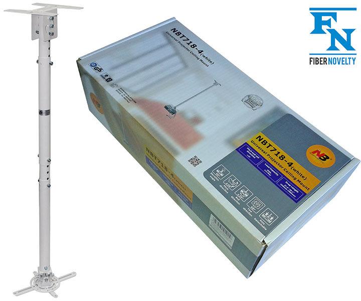 T7184W - Uniwersalny sufitowy uchwyt z pełną regulacją do projektorów o wadze do 13,6 kg