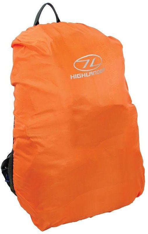 Highlander Pokrowiec Przeciwdeszczowy na Plecak 20-30L Pomarańczowy