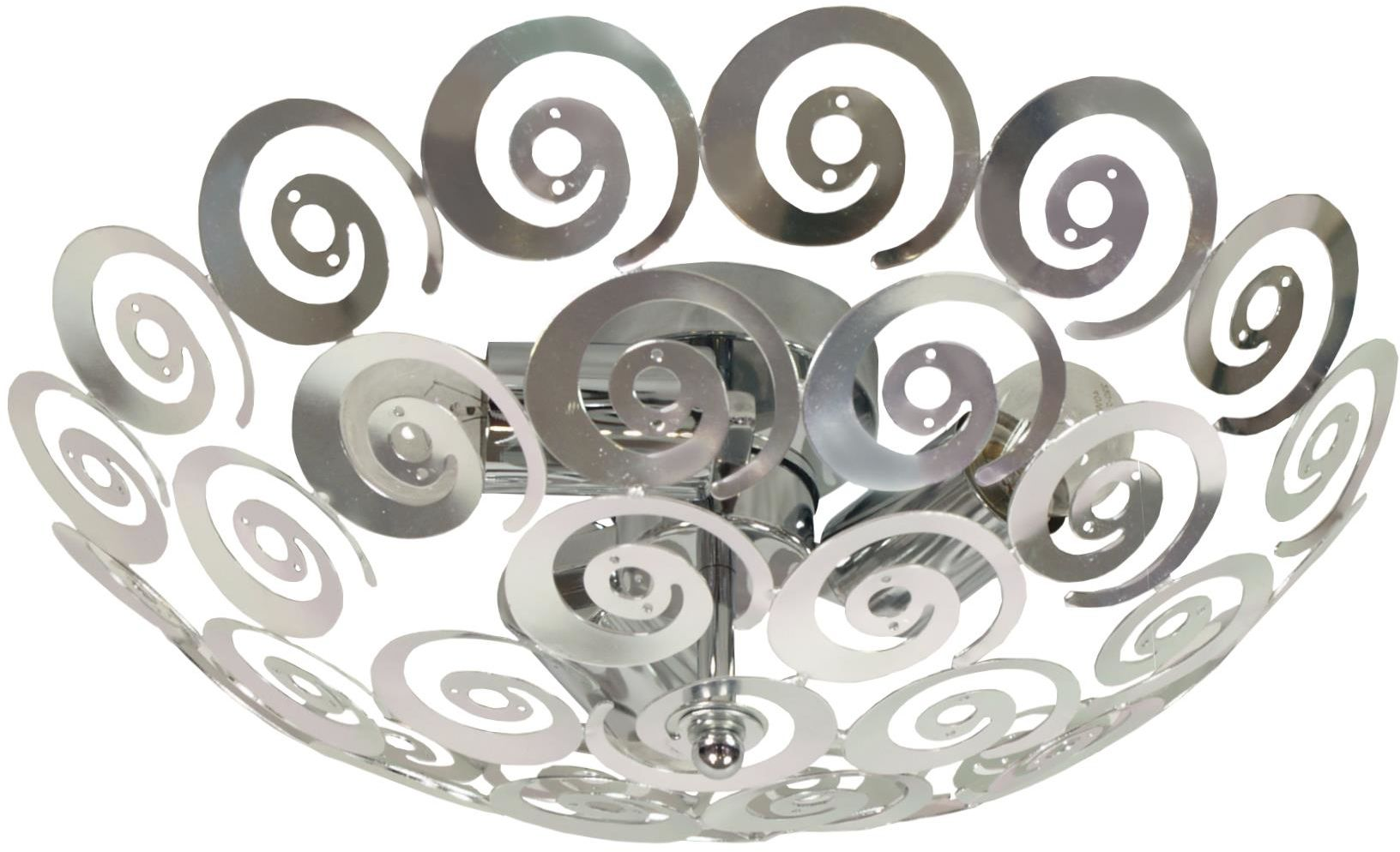 Candellux VOLANS1 14-97517 plafon lampa sufitowa metal srebrny 3X60W E27 40 cm