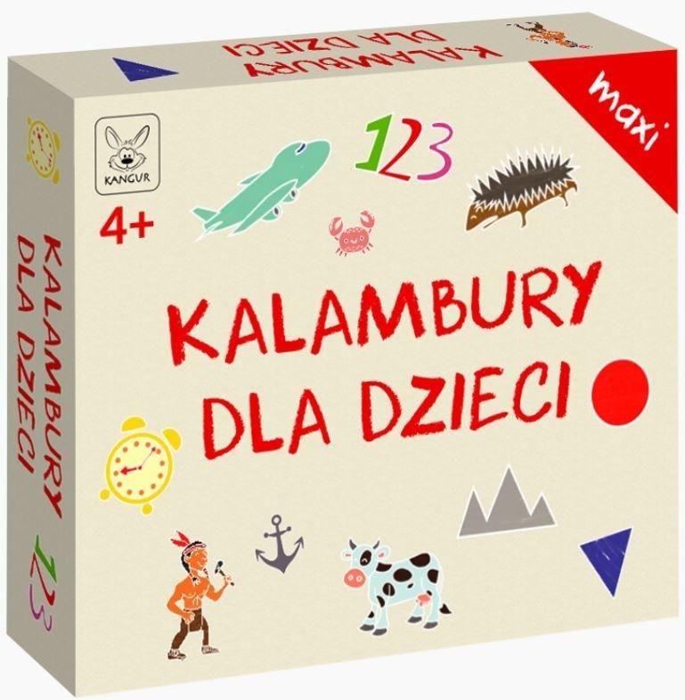 Kalambury dla dzieci Maxi ZAKŁADKA DO KSIĄŻEK GRATIS DO KAŻDEGO ZAMÓWIENIA