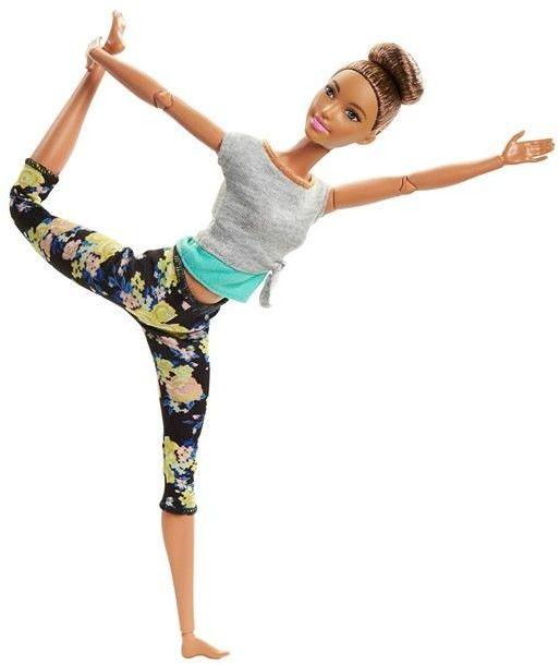 Barbie - Made to Move Kwiecista Barbie Szatynka FTG82