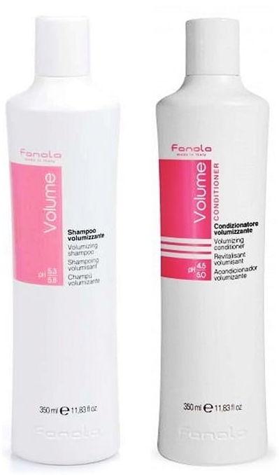 Fanola Volume szampon + odżywka objętość włosów 2x350ml