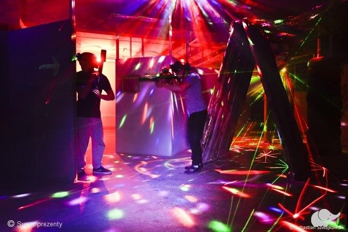 Paintball laserowy dla dwojga