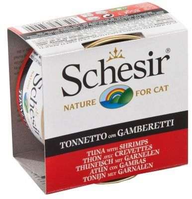 SCHESIR - Tuńczyk z krewetkami puszka 85g