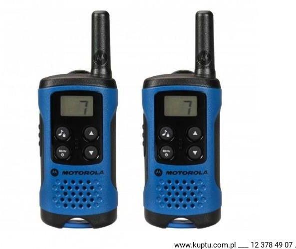 Motorola TLKR T41 radiotelefon niebieski