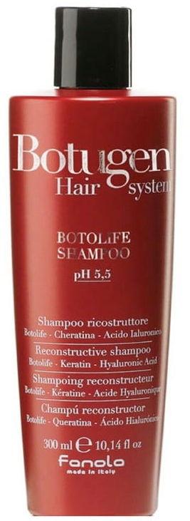 Fanola Botugen szampon do zniszczonych łamliwych włosów 300ml