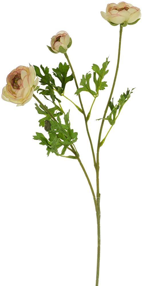 Express Flor 3 sztuczny jedwab, z 3 pąkami, 52 cm, różowy