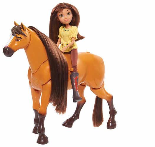 Interaktywny rumak i lalka Lucy Mustang: Duch wolności