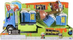 Flush Force 6037333 - Klo - samochód ciężarowy serii 2, z uroczymi figurkami dla dzieci od 4 roku życia (kolory/wzory mogą się różnić)