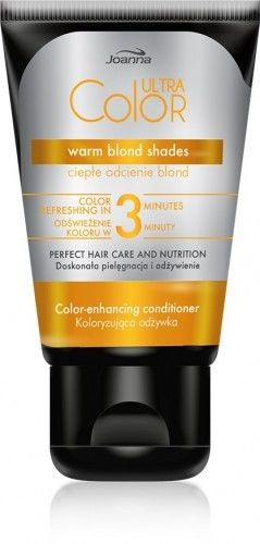 Joanna Ultra Color odżywka koloryzująca ciepłe odcienie blond 100g