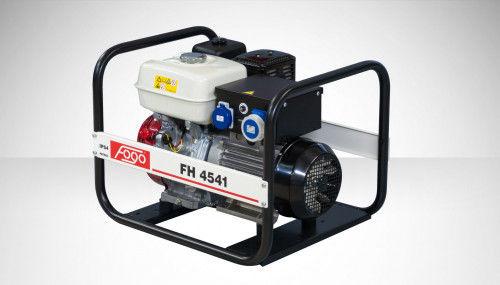 Fogo FH 4541 Agregat prądotwórczy jednofazowy 230V, moc max 3,9 kW, IP 54