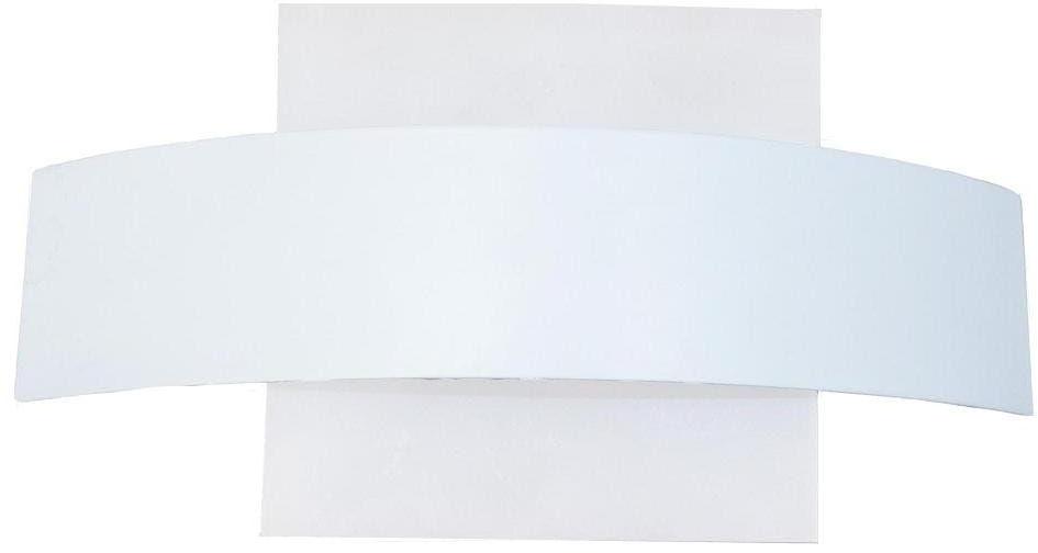 Light Prestige Faeto LP-1444/1W kinkiet lampa ścienna metal klosz szkło biały LED 6W 4000K 22,5cm