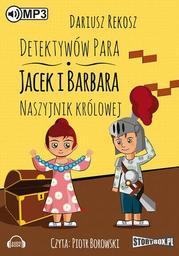 Detektywów para - Jacek i Barbara. Naszyjnik królowej - Audiobook.