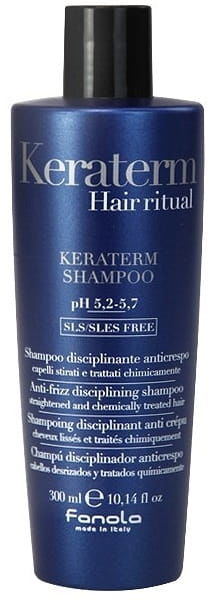 Fanola Keraterm szampon dyscyplinujący wygładzający włosy 300ml