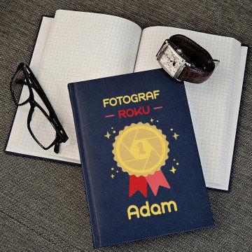 Fotograf roku - notatnik A5 z nadrukiem