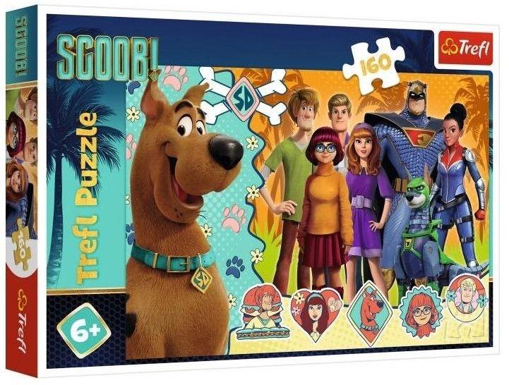 Puzzle Trefl 160 - Scooby Doo w akcji, Scooby Doo in action