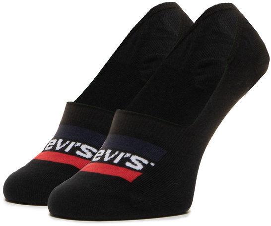 Levi''s  Zestaw 2 par stopek unisex 37157-0169 Czarny