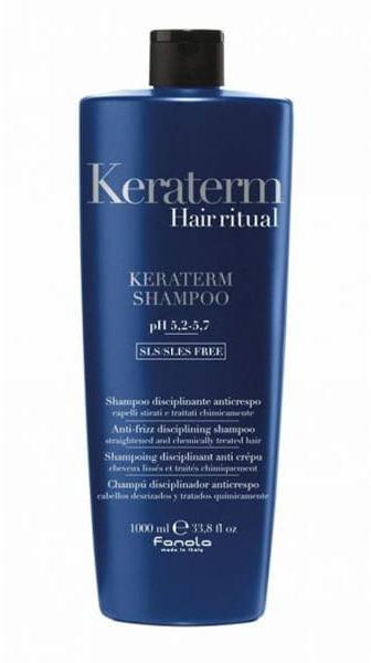 Fanola Keraterm szampon dyscyplinujący wygładzający włosy 1000ml