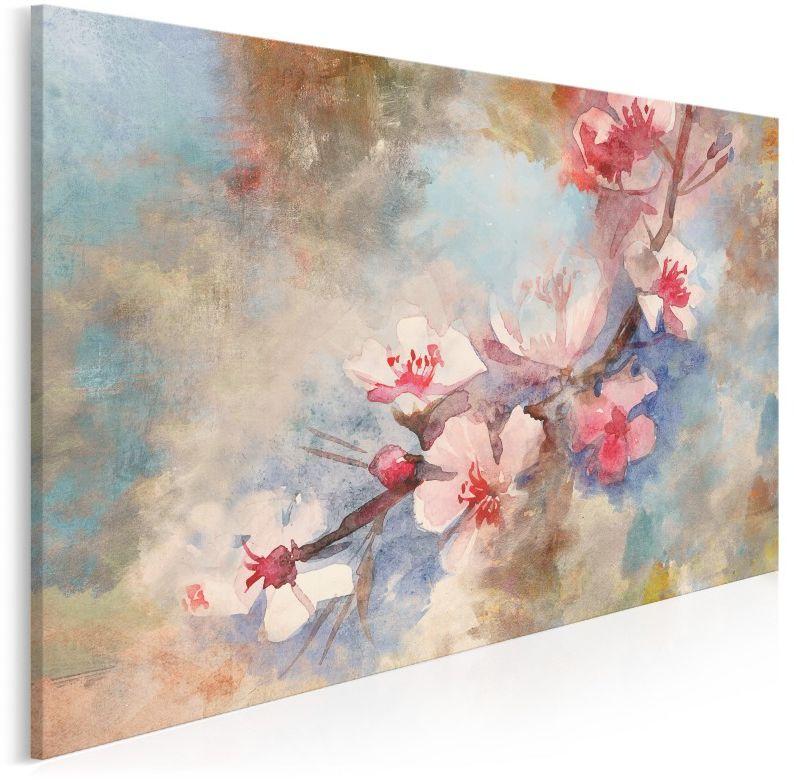 Słodka woń - nowoczesny obraz do salonu - 120x80 cm