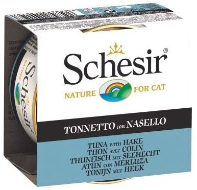 SCHESIR - Tuńczyk morszczuk puszka 85g